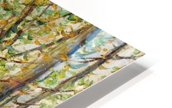 Moret-sur-Loing HD Sublimation Metal print