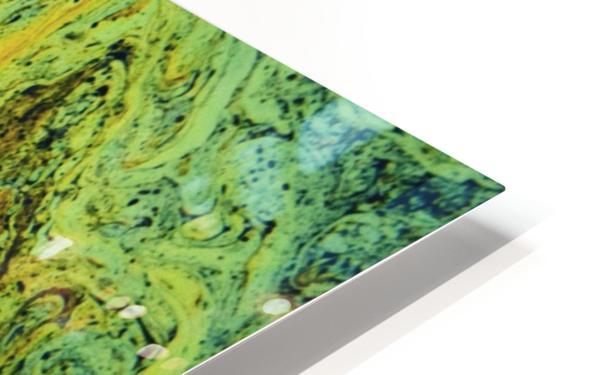 Bubbles Reimagined 49 HD Sublimation Metal print