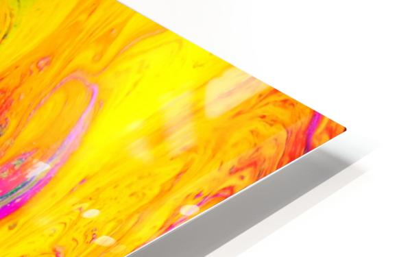 Bubbles Reimagined 53 HD Sublimation Metal print