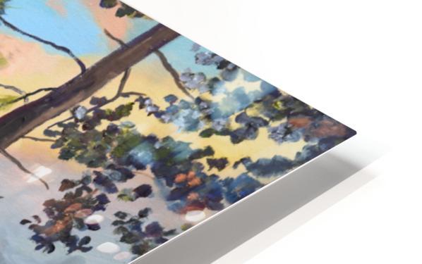 New Pink Knob HD Sublimation Metal print