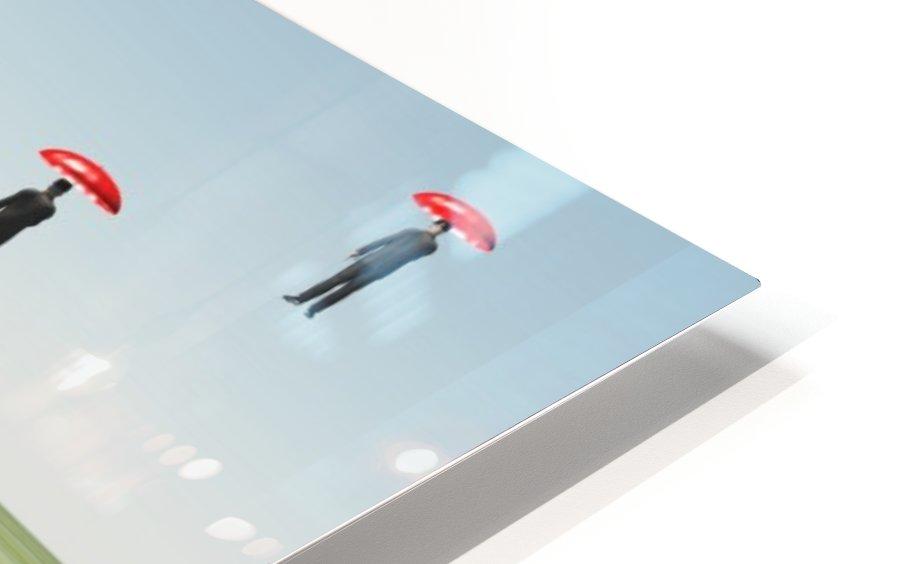 Surreal Floating Men HD Sublimation Metal print
