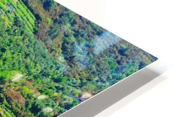 Colorful village of Cinque Terre HD Sublimation Metal print