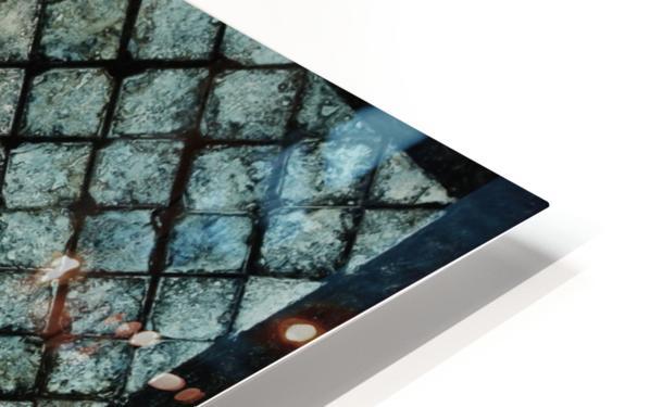 Les bleus vitraux -  Contemporary Art Impression de sublimation métal HD