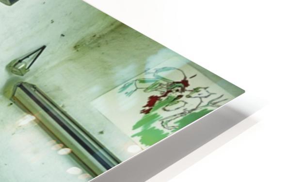 Paintbrushes HD Sublimation Metal print