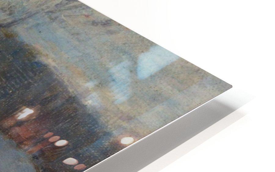 Snowy Landscape, Etaples HD Sublimation Metal print