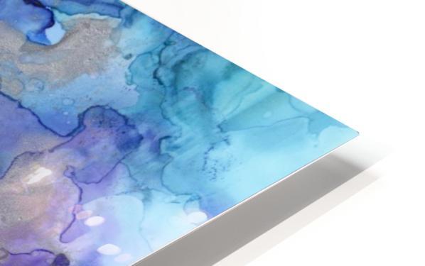 PURPLE CLOUDS HD Sublimation Metal print