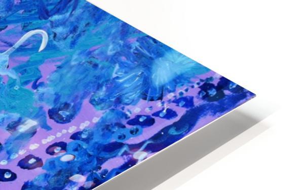 Blue Colab. Arts Education Artist HD Sublimation Metal print