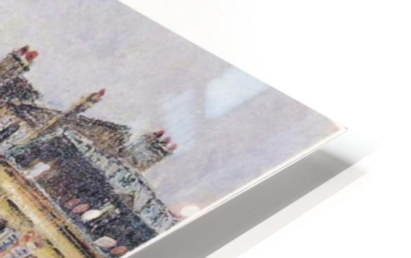 Street of Pontoise HD Sublimation Metal print