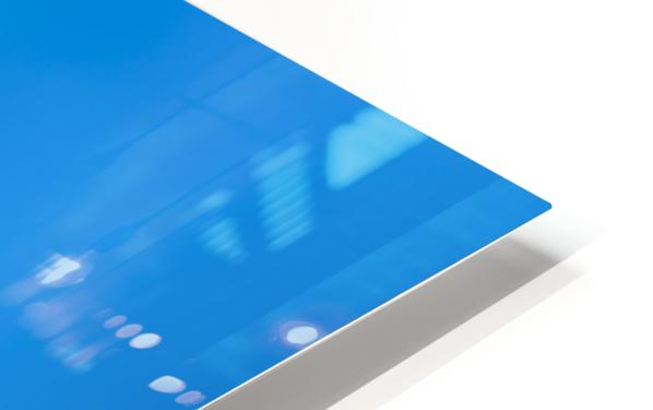 Blue fun HD Sublimation Metal print