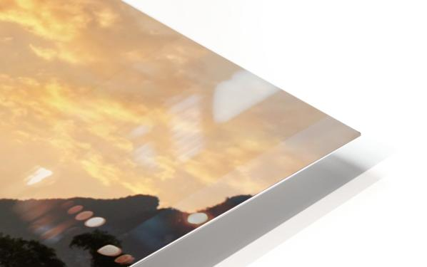 Golden Li River HD Sublimation Metal print