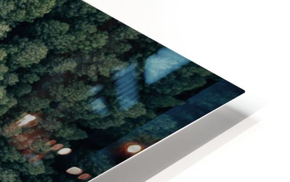 From above HD Sublimation Metal print