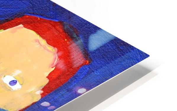 Freeze Frame High Five. Rick F. HD Sublimation Metal print