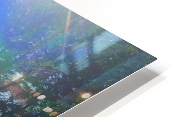 Rainbow Light HD Sublimation Metal print