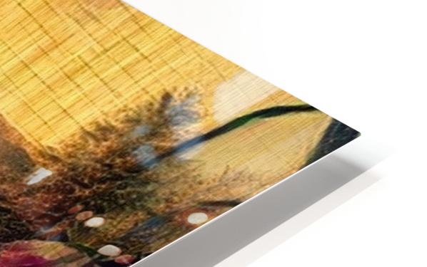 Oriental Painting. Japanese Style HD Sublimation Metal print