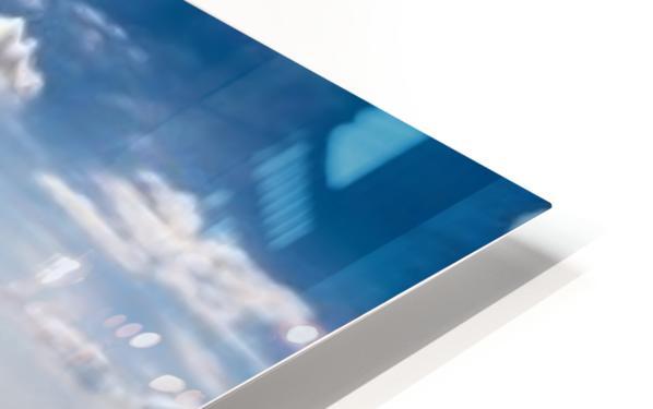 California Cloudscape HD Sublimation Metal print