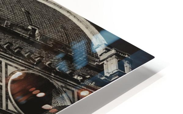 The Dome HD Sublimation Metal print