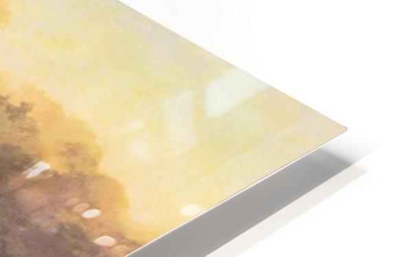 Port Ruysdael by Joseph Mallord Turner HD Sublimation Metal print