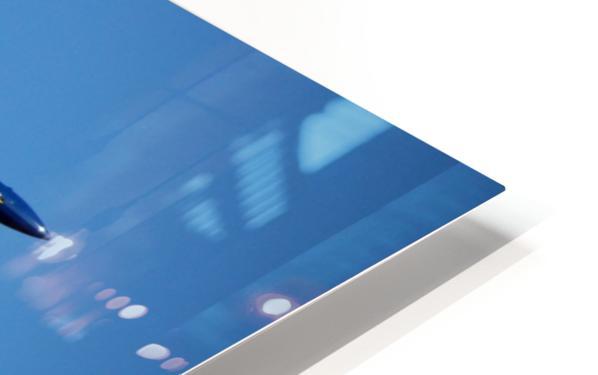 Single USN Blue Angel Flying HD Sublimation Metal print