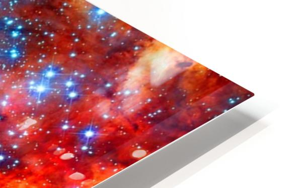 Space Vampire HD Sublimation Metal print