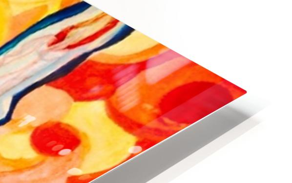 HALF EMPTY OR HALF FULL HD Sublimation Metal print