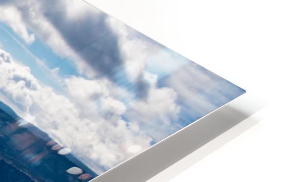 Top of Half Dome HD Sublimation Metal print