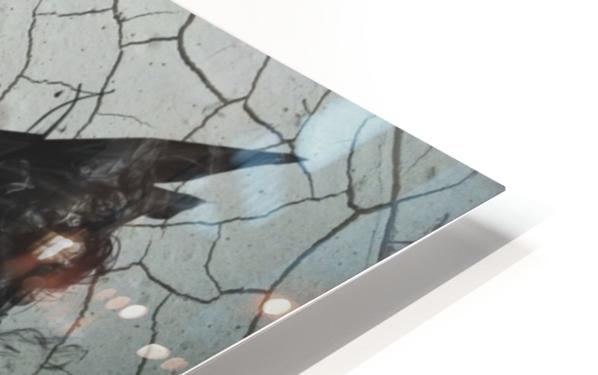 Find Me In The Cracks HD Sublimation Metal print