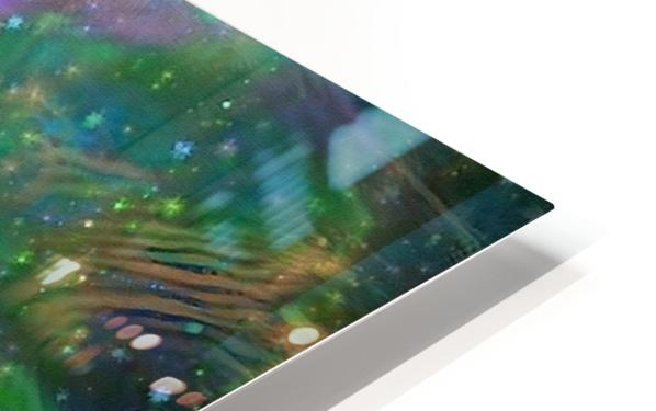 DNA Strand Artwork HD Sublimation Metal print