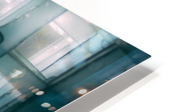 Glass lines 1 triptych HD Sublimation Metal print