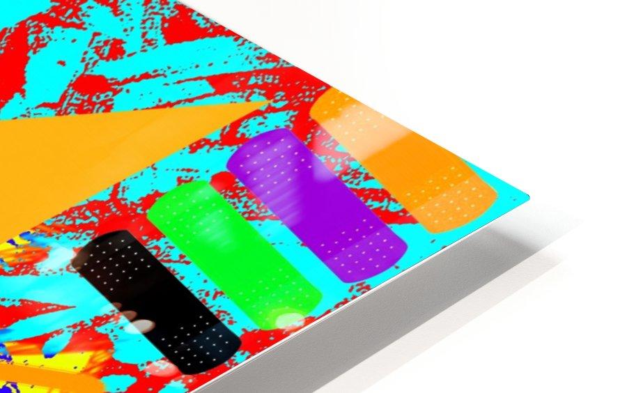 Kinpi The Bandaid HD Sublimation Metal print