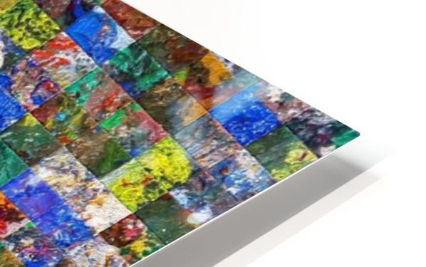 The Wall of Random Bricks HD Sublimation Metal print