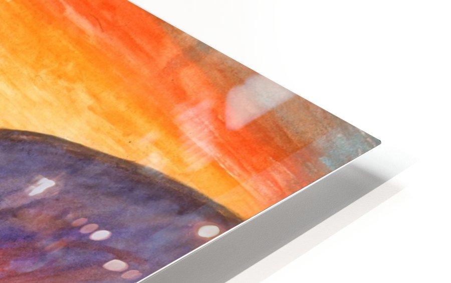 Sea surf at sunset HD Sublimation Metal print
