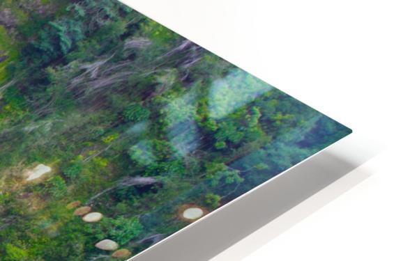 Tropical Falls - Hawaii Vertical HD Sublimation Metal print