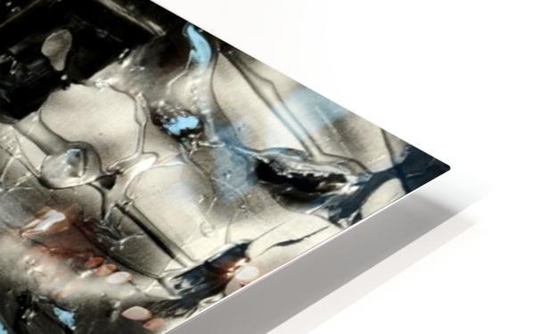 2462 walk away HD Sublimation Metal print