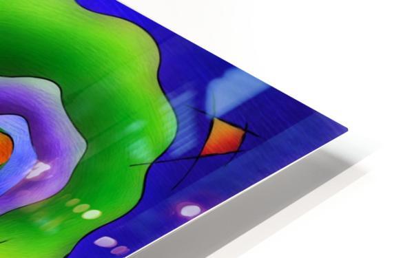 Fasettonia - colourful spirit HD Sublimation Metal print