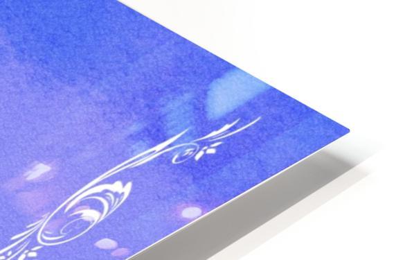 Psalm 46 1 4BL HD Sublimation Metal print