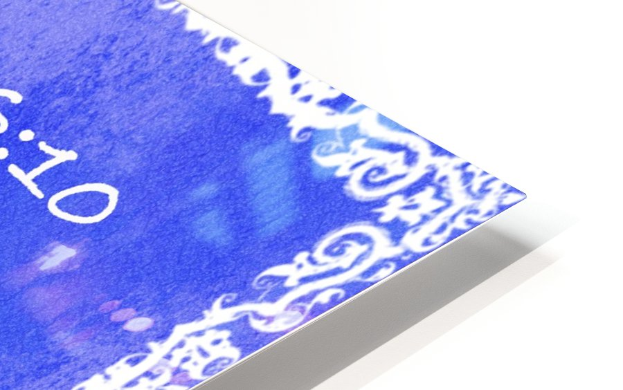 Psalm 46 10 10BL HD Sublimation Metal print