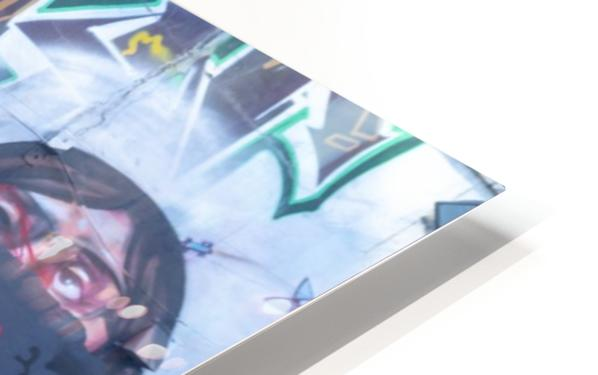 Torontos Graffiti Alley 32 HD Sublimation Metal print