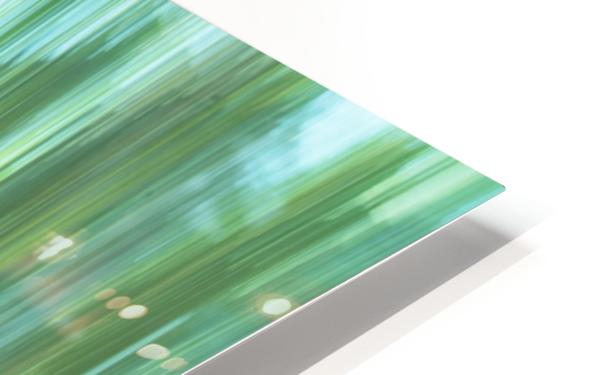 Moving Trees 04 Landscape 52-70 HD Sublimation Metal print