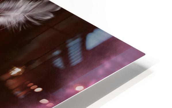 Afro Latina HD Sublimation Metal print