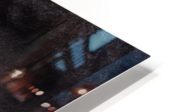 Black Woman Headshot HD Sublimation Metal print