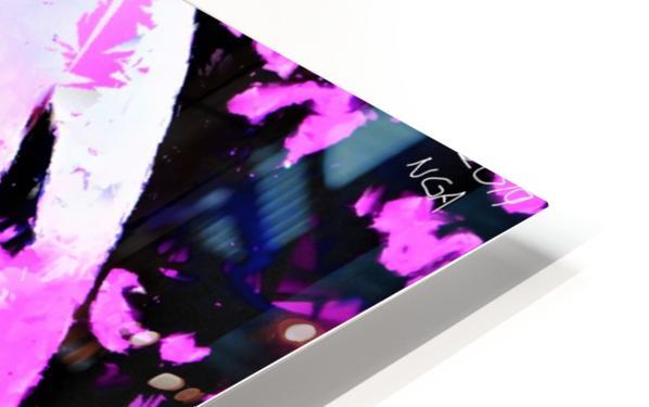 Pink Fingers - by Neil Gairn Adams HD Sublimation Metal print