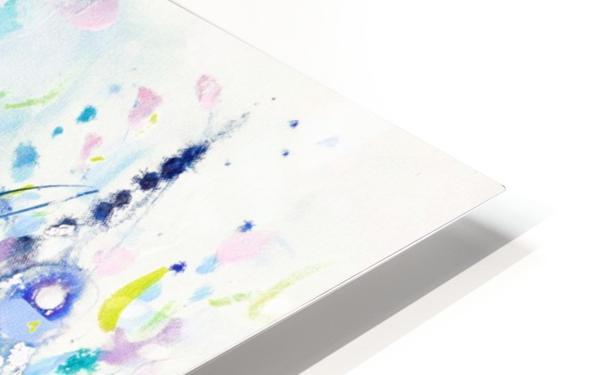 Ultramarine Meadow HD Sublimation Metal print