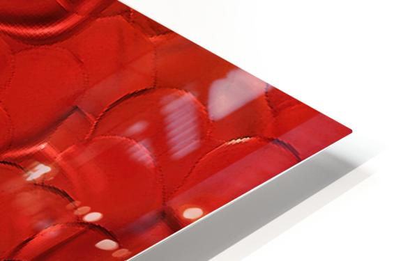 Red cells HD Sublimation Metal print
