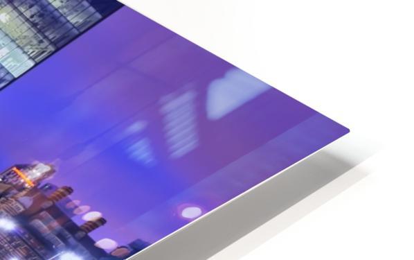 LIV 004 Dock Reflections_1549590972.26 HD Sublimation Metal print