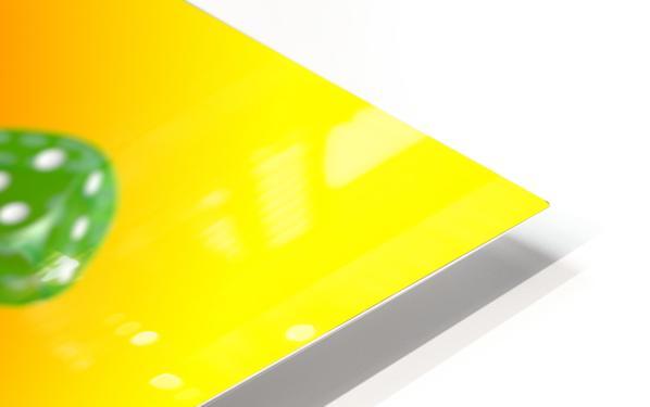 Dice 2 HD Sublimation Metal print