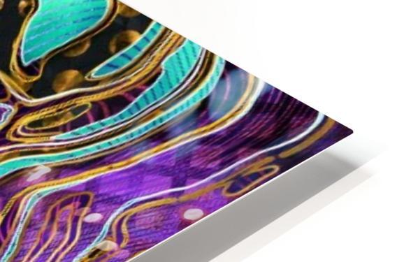 Pattern LXXVIII   II   Panoramic HD Sublimation Metal print