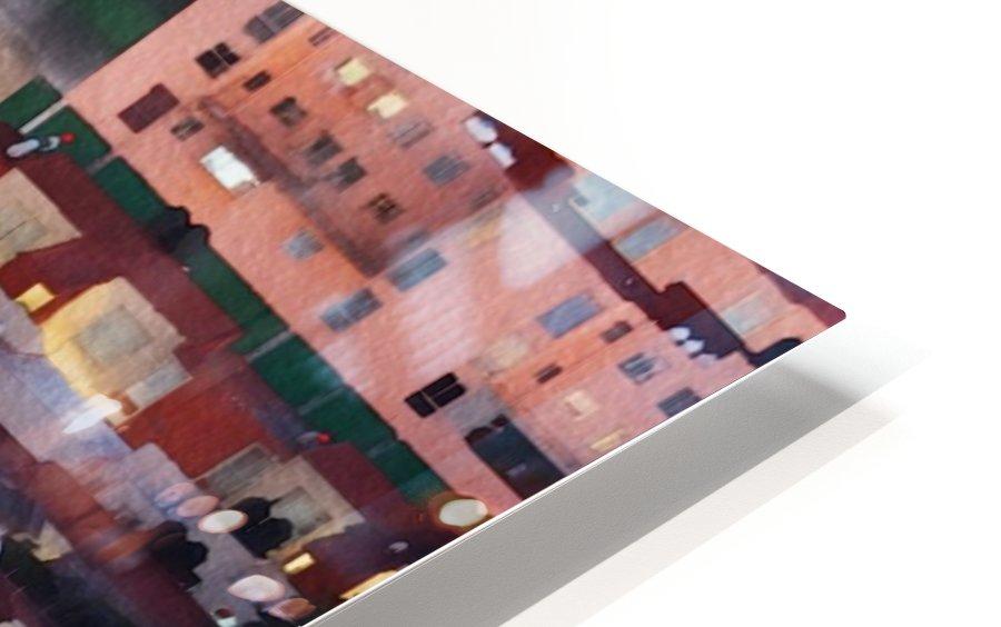 Town rendering HD Sublimation Metal print