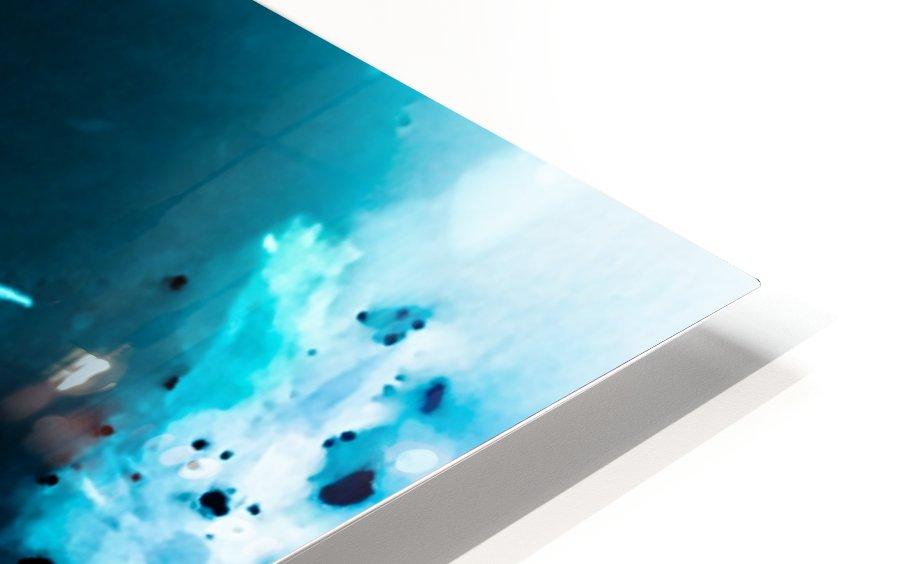 Bleu Bird Ingnite  Impression de sublimation métal HD