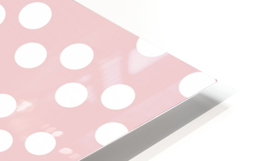 BISQUE Polka Dots HD Sublimation Metal print