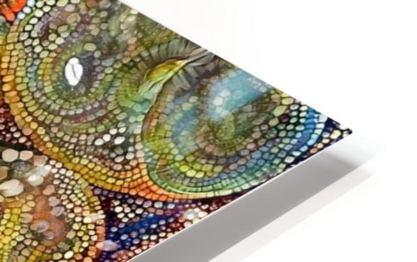 Mosaic Seashells HD Sublimation Metal print